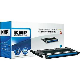 KMP Toner cartridge replaced Samsung CLT-C406S Compatible Cyan 1000 pages SA-T54