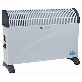 Prem-i-air Free Standing Or Wall Mounted Convector Heater With Turbo; 2kw