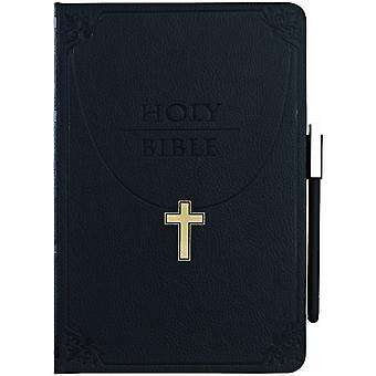 Ozaki wisdom folding cover case iPad mini Holy Bible black