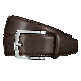 Windsor. Belts men's belts leather belt Brown 4464