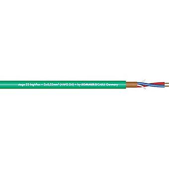 Sommer Cable 200-0004 Microphone Cable, , Green Sheath