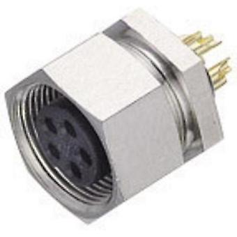 Binder 09-0082-00-04 09-0082-00-04 Sub-micro Circular Connector Nominal current: 3 A Number of pins: 4