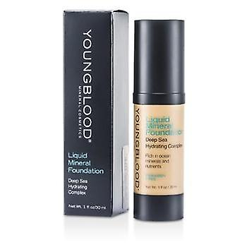 Youngblood vloeibare minerale Foundation - Shell - 30ml / 1oz