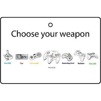 Выберите ваше оружие автомобилей освежитель воздуха