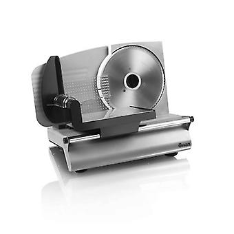 Swan Food Slicer 7.5Inch Stainless Steel Round Blade 150W - Silver (Model SFS102)