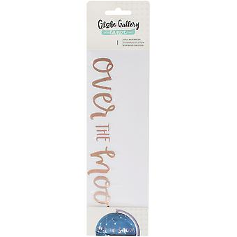 One Canoe Two Globe Gallery Vinyl Embellishment-Over The Moon Expression 1C2GV-77321