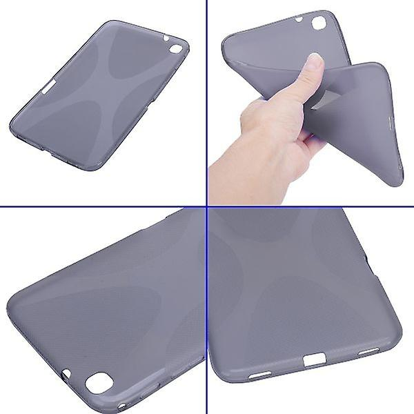 Protective case gray silicone case for Samsung Galaxy tab 3 8.0 plus P8200