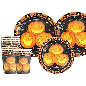 Rubie's Pumpkin Party Set For 6 People (Kostiumy)