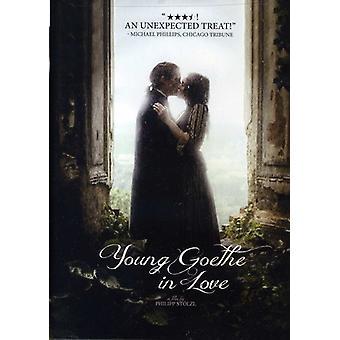 Unge Goethe i kærlighed [DVD] USA importerer