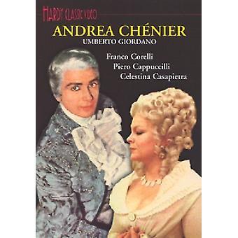 U. Giordano - Andrea Chenier komplet Opera [DVD] USA import