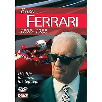 Enzo Ferrari historie [DVD] USA importerer