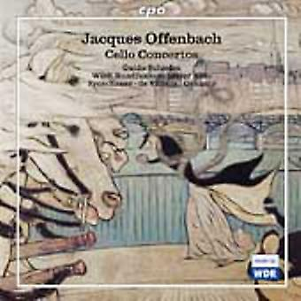 J. Offenbach - Offenbach: Cello Concertos [CD] USA import