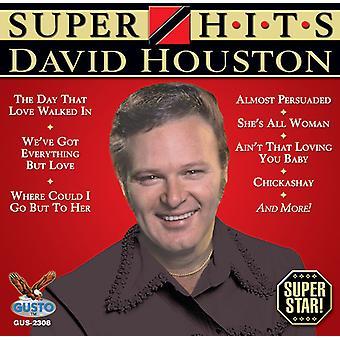 David Houston - Super Hits [CD] USA import