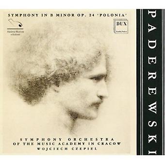 I.J. Paderewski - Paderewski: Symfoni i B mindre Polonia [CD] USA import