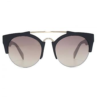 Italia Independent I-Plastic 0921 Sunglasses In Black