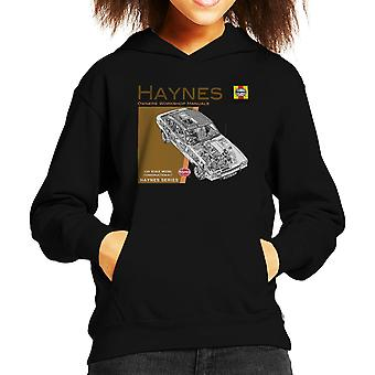 Haynes Owners Workshop Manual 0375 Ford Capri II V6 Kid's Hooded Sweatshirt