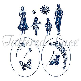 Tattered Lace Family Get Together Accessories Die