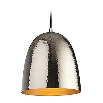 Firstlight Moroccan Nickel Metal Pendant Light