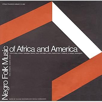 Neger folkemusik af Afrika & Amerika - Negro folkemusik af Afrika & Amerika [CD] USA import