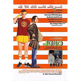 Juno - Signed Photo in Movie Poster