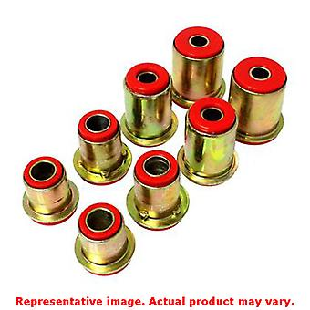 Energy Suspension 3.3105R Red Front Energy Suspension Control Arm Bushing Set F