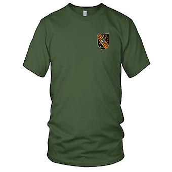 MACV-SOG B-51 Det - 5th Special Forces BAC SI - Vietnam War Insignia Embroidered Patch - Mens T Shirt