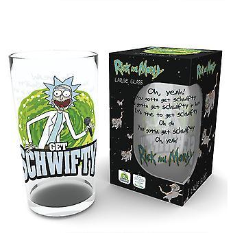 Rick und Morty bekommen Schwifty Pint Glas