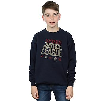 DC Comics pojkar Justice League film enade vi stå Sweatshirt