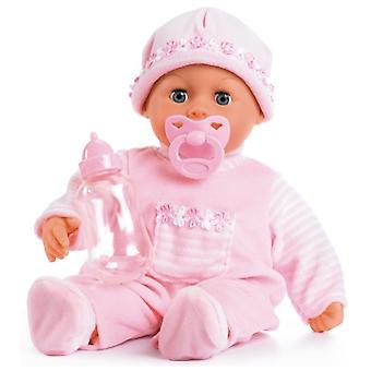 First Words Baby Bayer: 38 cm roze