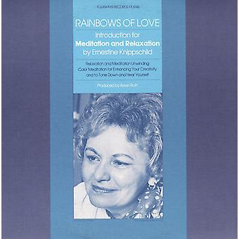 Ernestine Knippschild - Rainbows of Love: Introductions for Meditation & R [CD] USA import