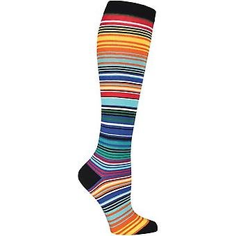 Novelty Knee High Socks-Serape Stripes KNEEHIGH-7N026