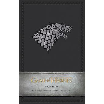 Game of Thrones Ruled Journal: House of Stark (Hardcover) by Insight Editions