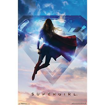 Supergirl - sezon 1 Poster Print