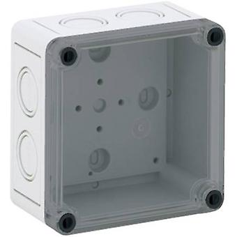 Build-in casing 110 x 110 x 66 Polycarbonate (PC) Light grey Sp