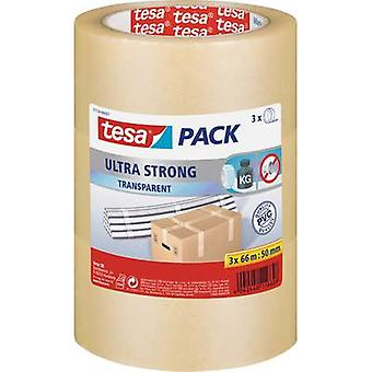Packaging tape tesapack® Ultra Strong Transparent (L x W) 66 m x 50 mm