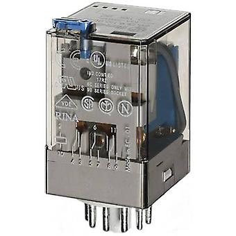 Plug-in relay 12 Vdc 10 A 3 change-overs Finder 60