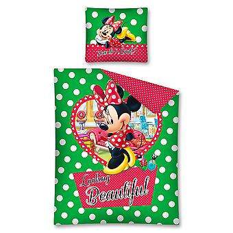 Minnie Mouse bed set 140x200 cm