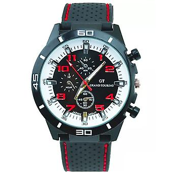 Mens analog idrett Smart se Gummirem BGRW