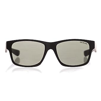 Tierische Reflektor Sonnenbrillen - mattschwarz / Rauchen