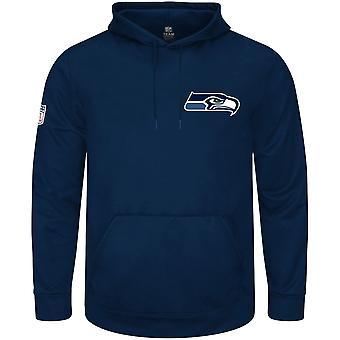 Majestic NFL Hoody - realm Seattle Seahawks navy