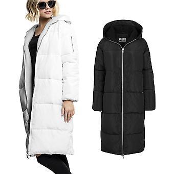 Urban Classics Ladies - Oversized Hooded Puffer Winter Mante