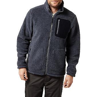 Craghoppers Mens Edvin Polyester Full Length Zip Fleece Jacket Top