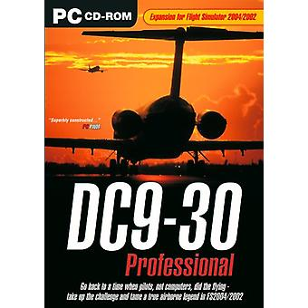 DC9-30 professionelle Add-On til FS 20022004 (PC CD)