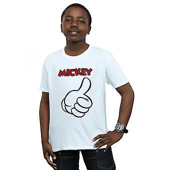 Disney Boys Mickey Mouse Thumbs Up T-Shirt