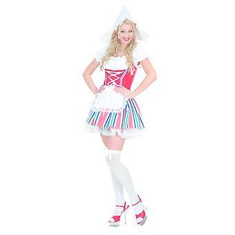 Hollandsk pige kostume