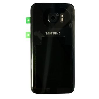 Samsung Galaxy S7 edge G935 G935F battery cover cover + adhesive pad black