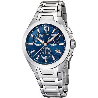 Festina mens watch sports chronograph F16678/b