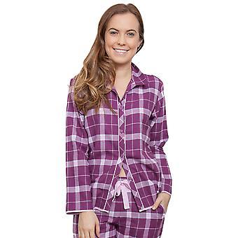 Fiona Magenta roxo seleção Pyjama pijama Cyberjammies 3831 feminino