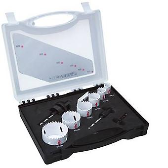 Hole saw set 12-piece Makita D-47282