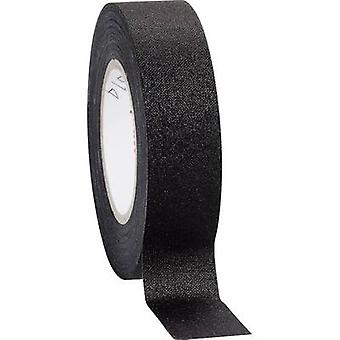 Coroplast 16781 Cloth tape Black (L x W) 10 m x 19 mm 1 Rolls